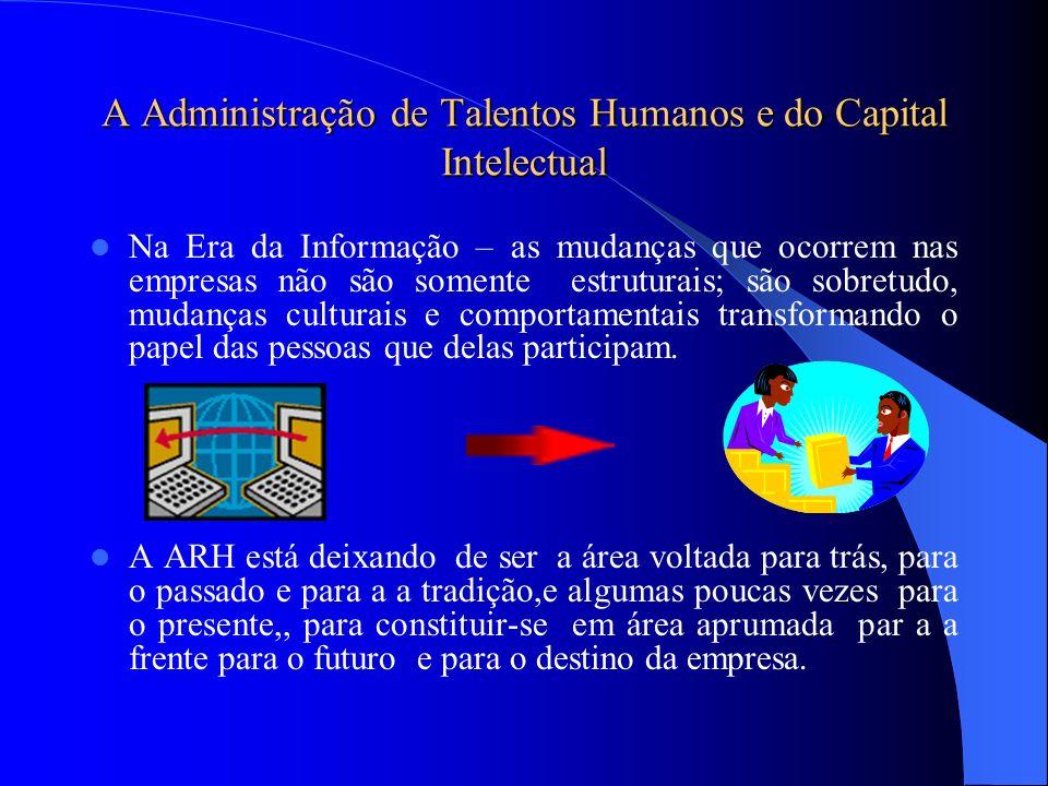 A Administração de Talentos Humanos e do Capital Intelectual