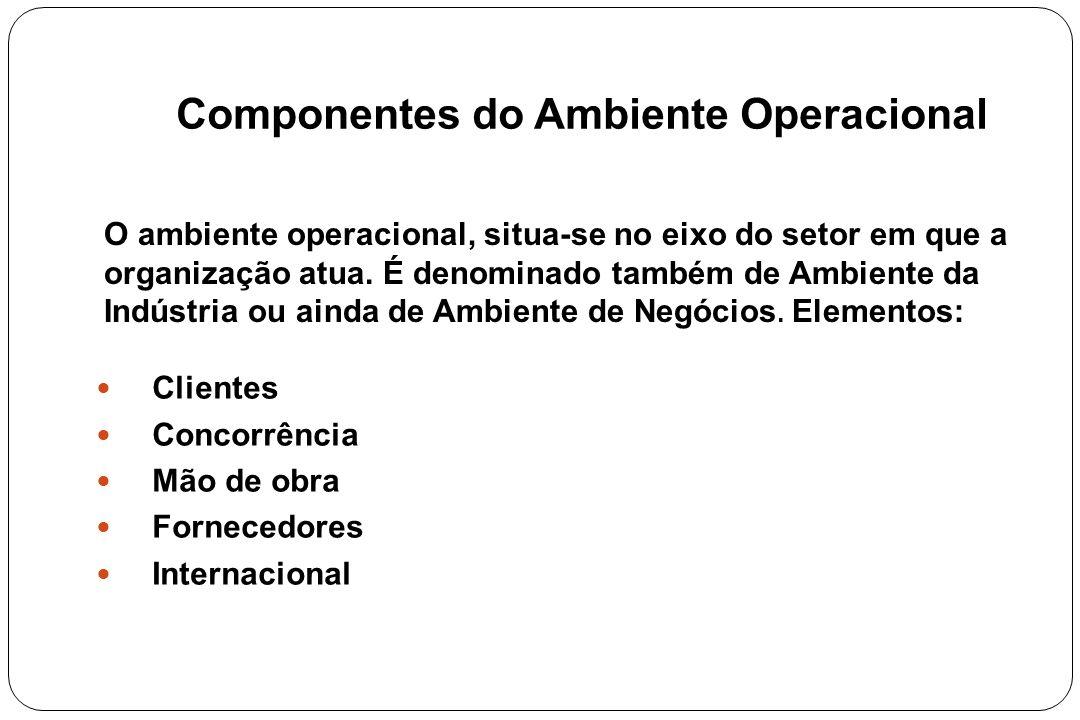 Componentes do Ambiente Operacional