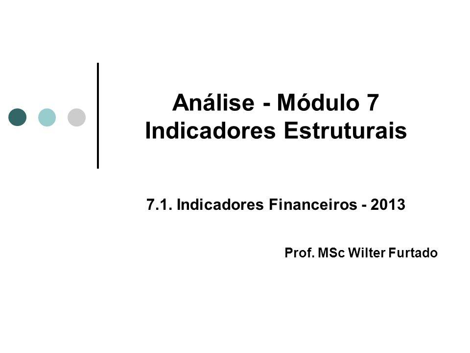 Análise - Módulo 7 Indicadores Estruturais