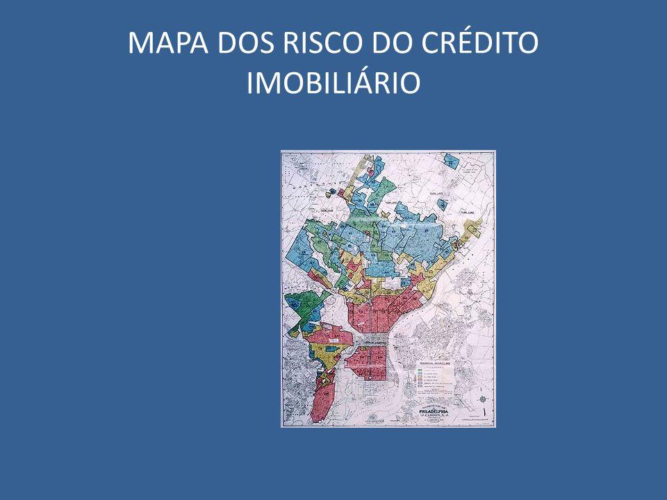 MAPA DOS RISCO DO CRÉDITO IMOBILIÁRIO