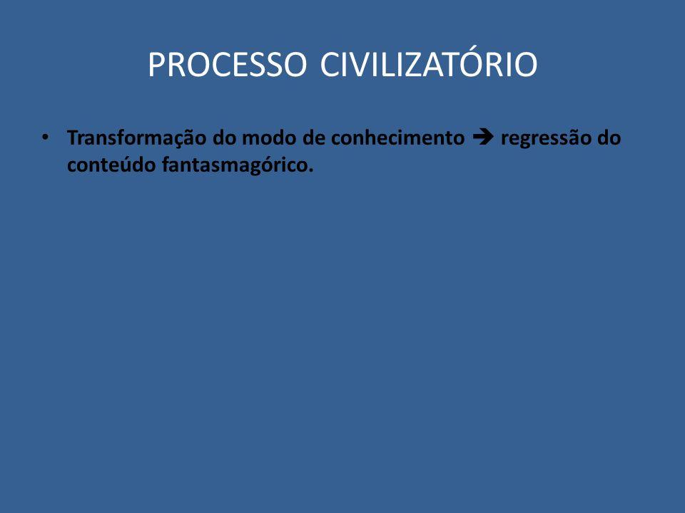 PROCESSO CIVILIZATÓRIO