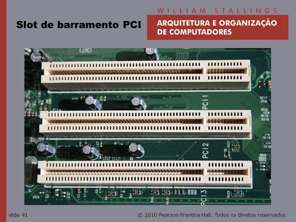Slot de barramento PCI
