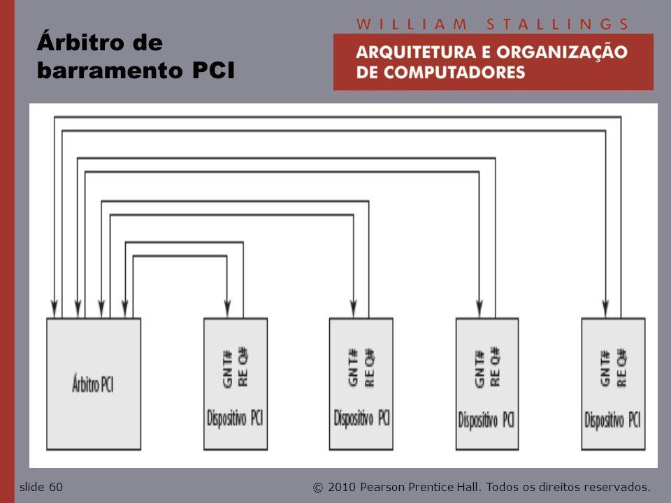 Árbitro de barramento PCI