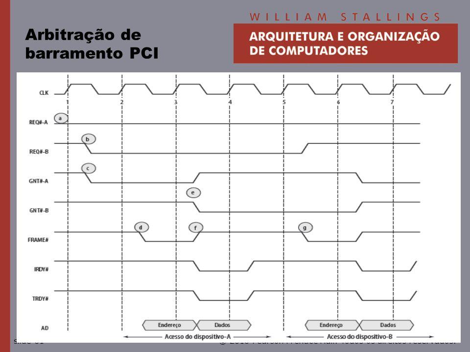 Arbitração de barramento PCI