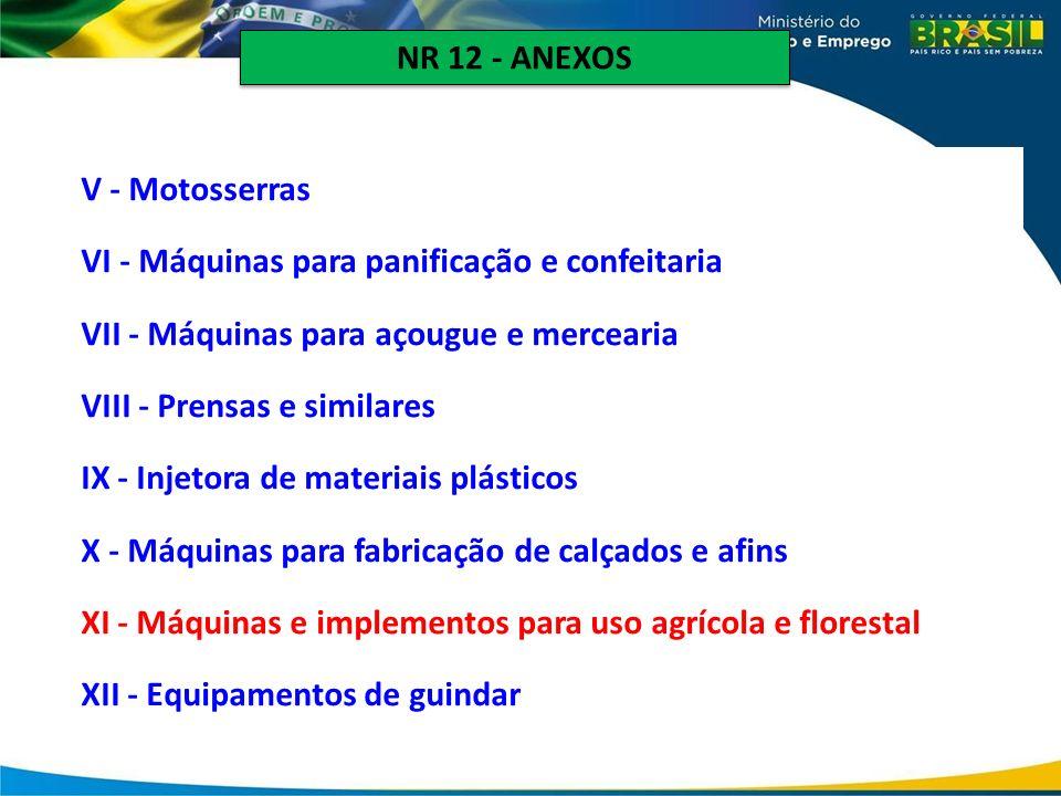NR 12 - ANEXOS