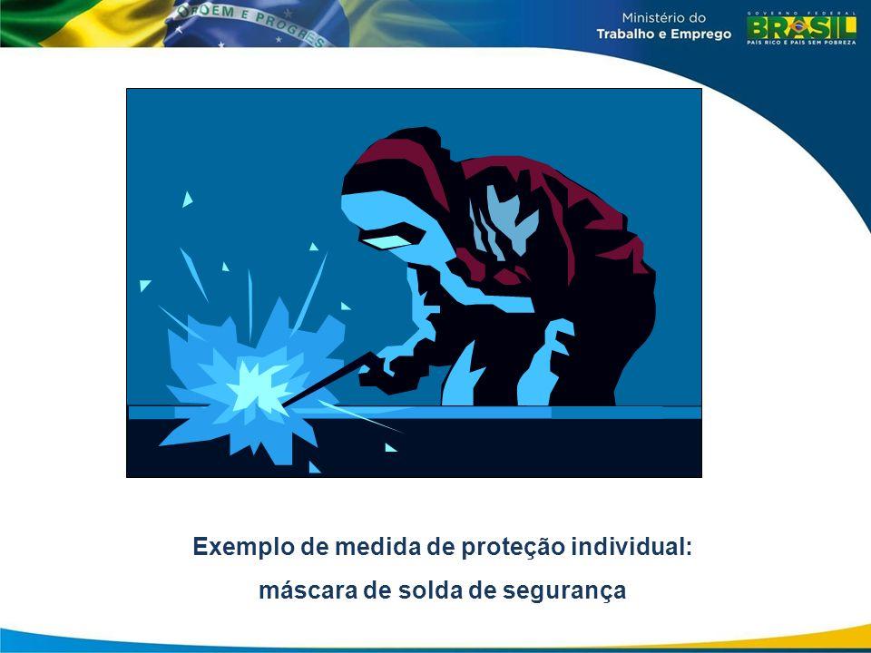 09/04/12 Exemplo de medida de proteção individual: máscara de solda de segurança