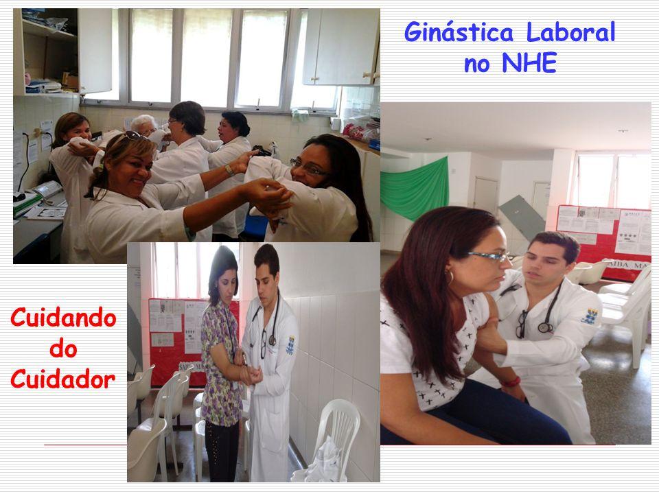 Ginástica Laboral no NHE