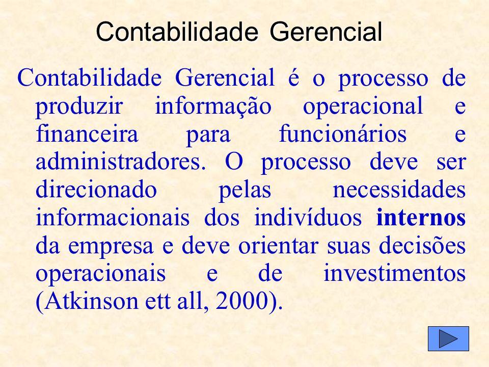 Contabilidade Gerencial