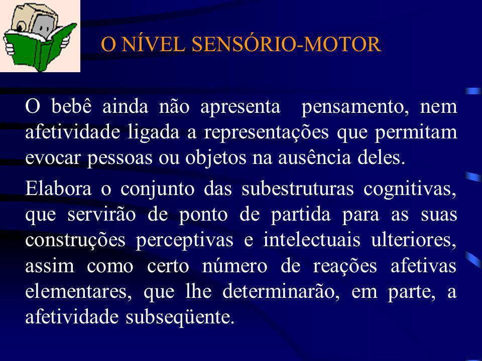 O NÍVEL SENSÓRIO-MOTOR