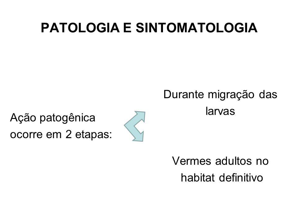PATOLOGIA E SINTOMATOLOGIA