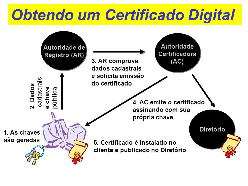 Obtendo um Certificado Digital
