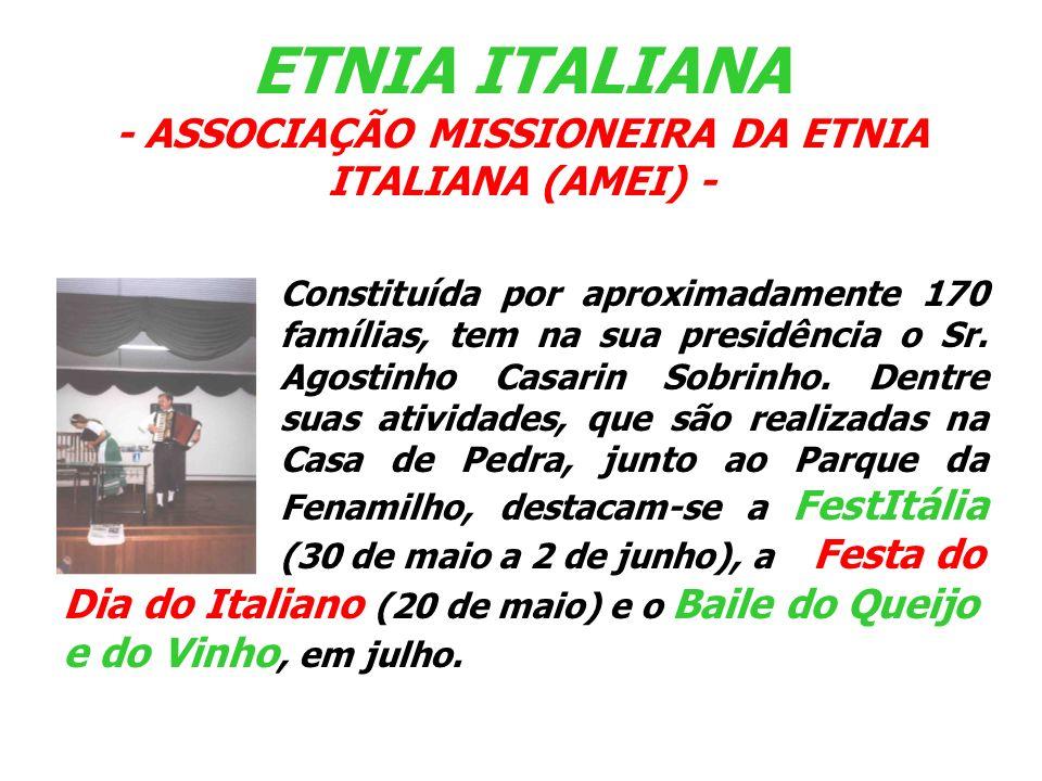 ETNIA ITALIANA - ASSOCIAÇÃO MISSIONEIRA DA ETNIA ITALIANA (AMEI) -