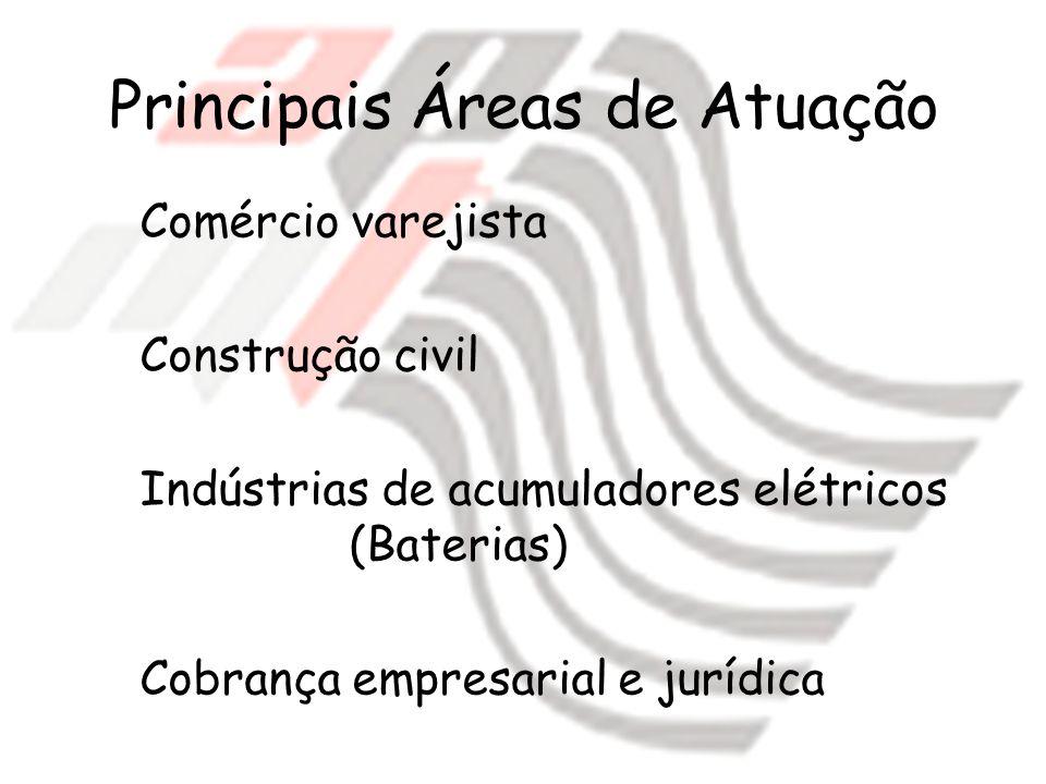 Principais Áreas de Atuação