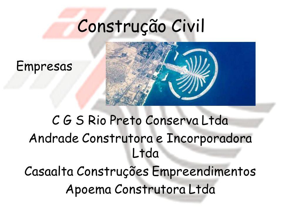 Construção Civil Empresas C G S Rio Preto Conserva Ltda