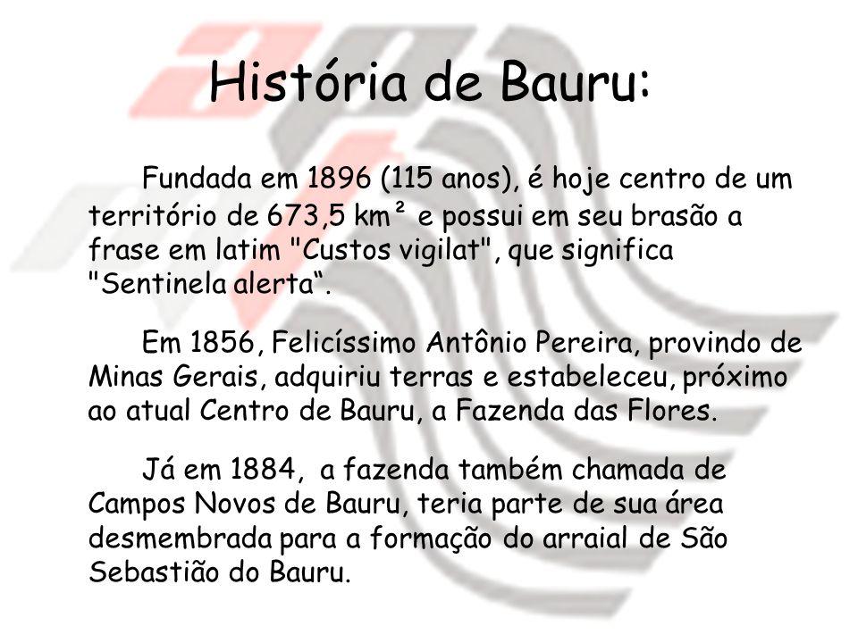História de Bauru: