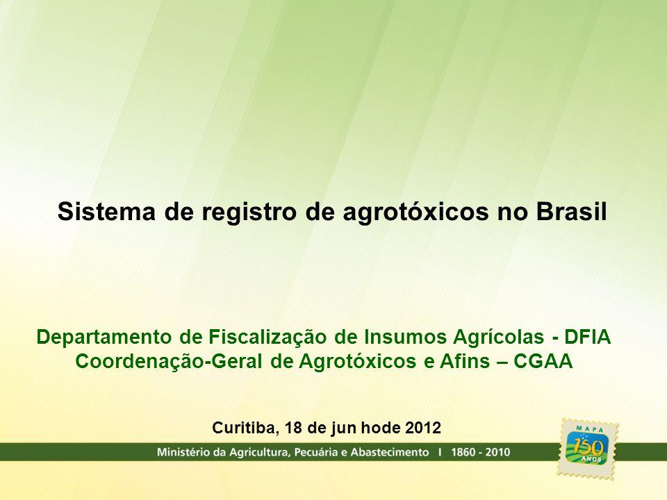 Sistema de registro de agrotóxicos no Brasil