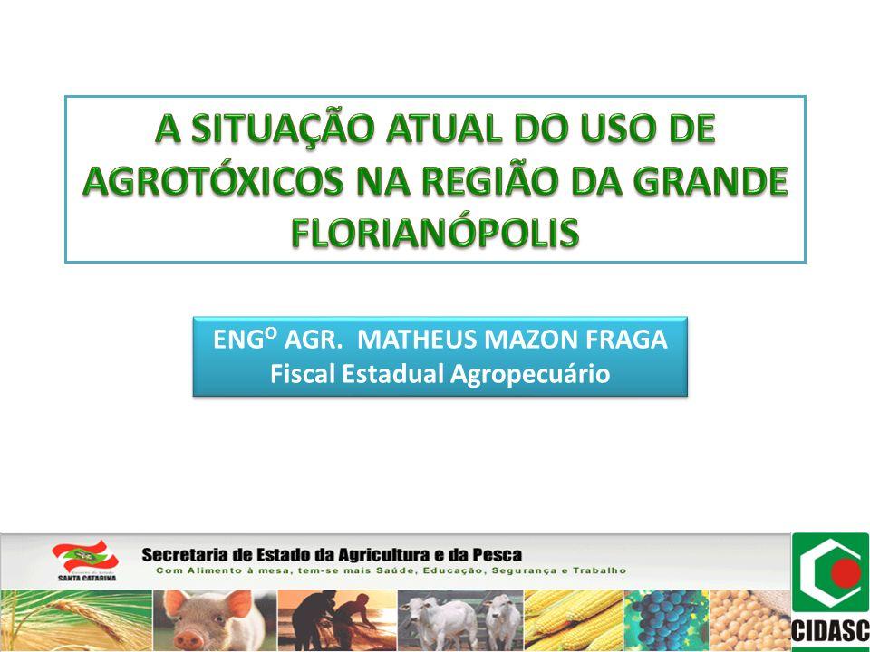 ENGO AGR. MATHEUS MAZON FRAGA Fiscal Estadual Agropecuário