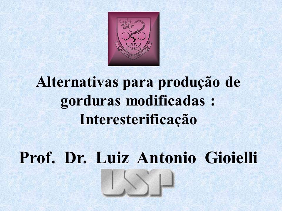 Prof. Dr. Luiz Antonio Gioielli