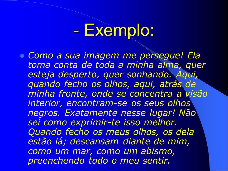 - Exemplo: