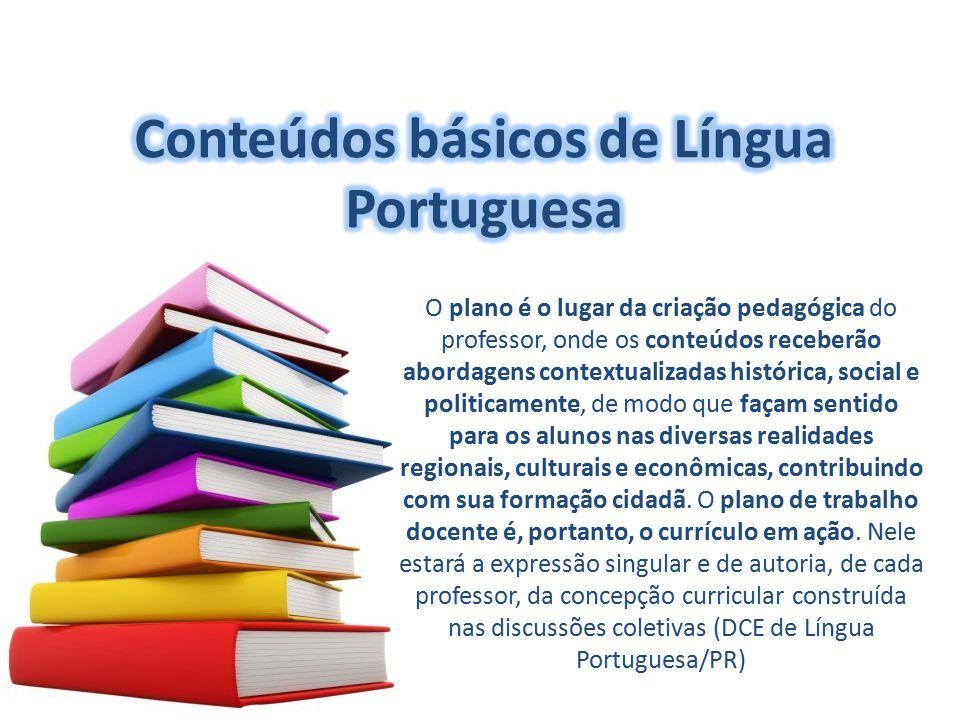 Conteúdos básicos de Língua Portuguesa