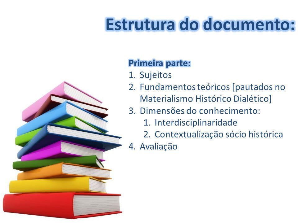 Estrutura do documento:
