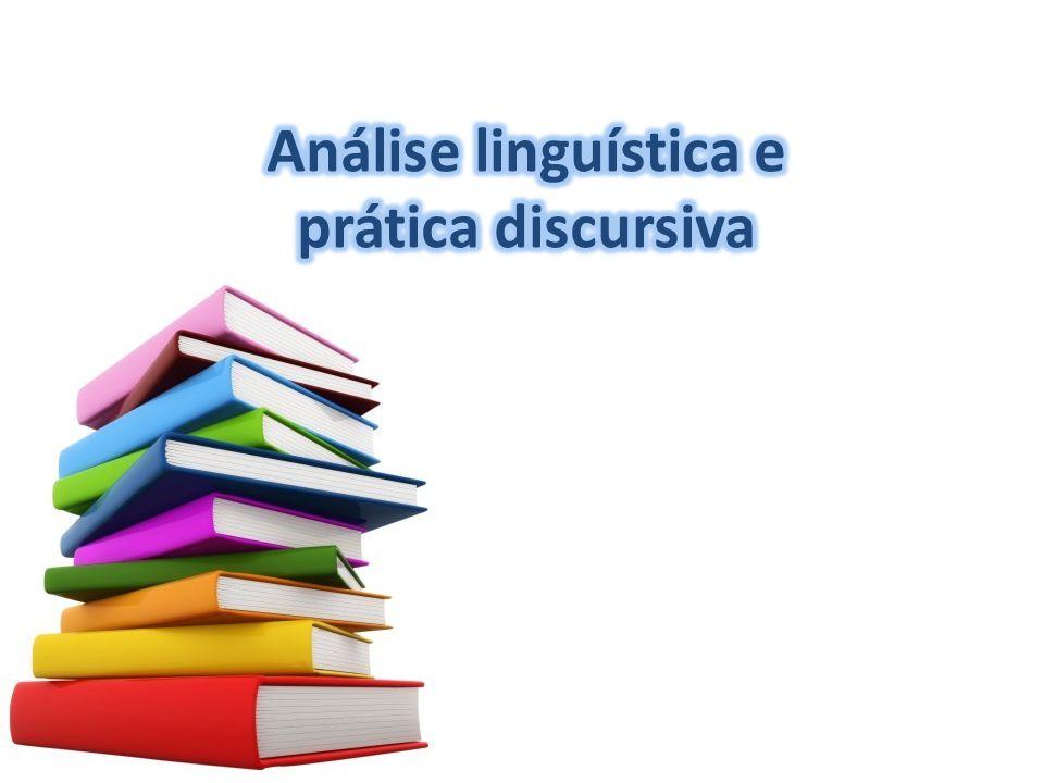 Análise linguística e prática discursiva