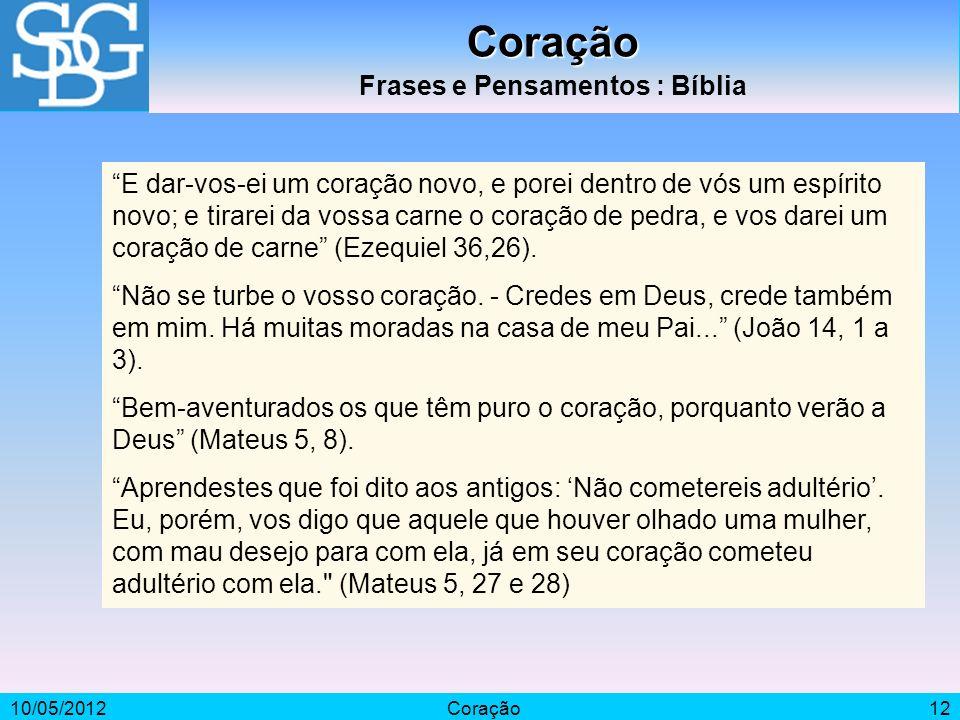 Frases e Pensamentos : Bíblia