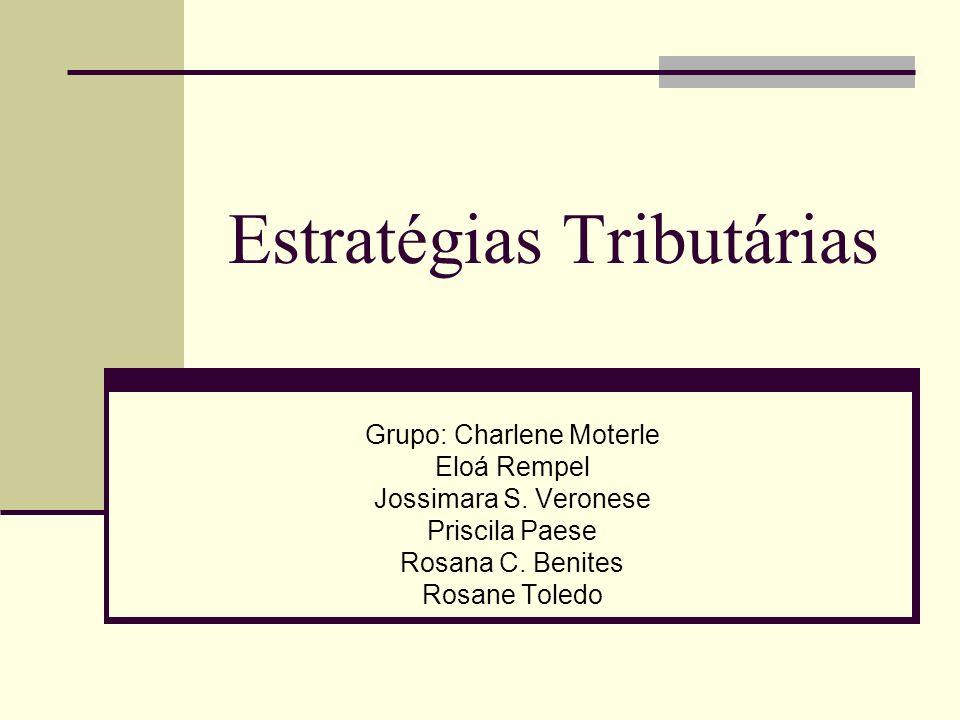 Estratégias Tributárias