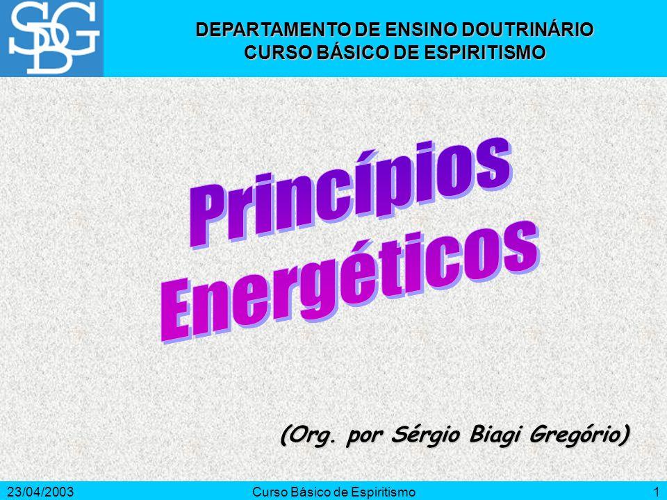 Princípios Energéticos (Org. por Sérgio Biagi Gregório)