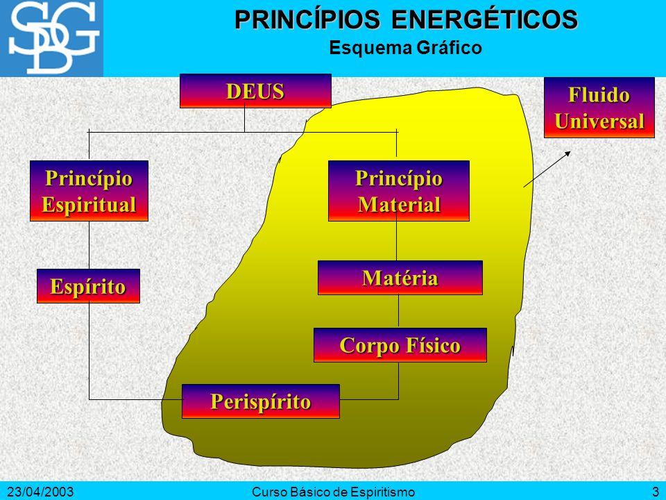 PRINCÍPIOS ENERGÉTICOS