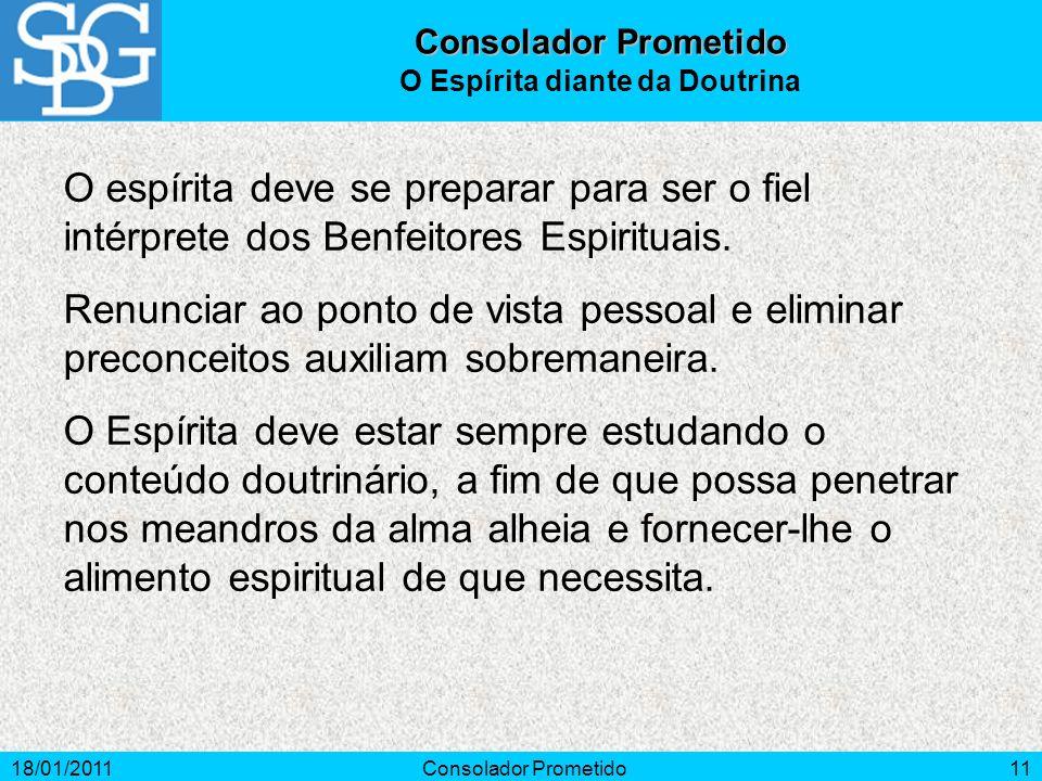 O Espírita diante da Doutrina