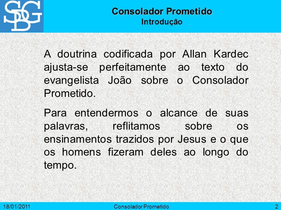 Consolador PrometidoIntrodução.