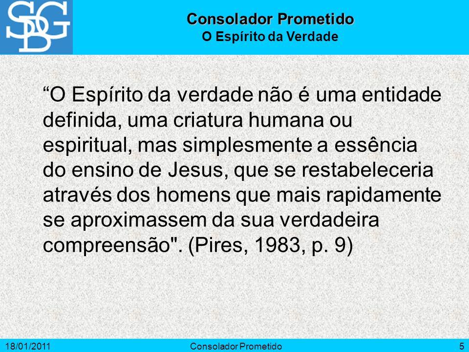 Consolador Prometido O Espírito da Verdade.