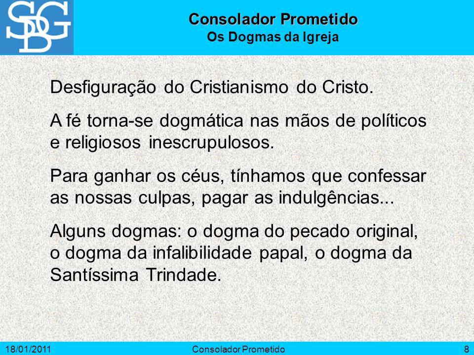 Desfiguração do Cristianismo do Cristo.