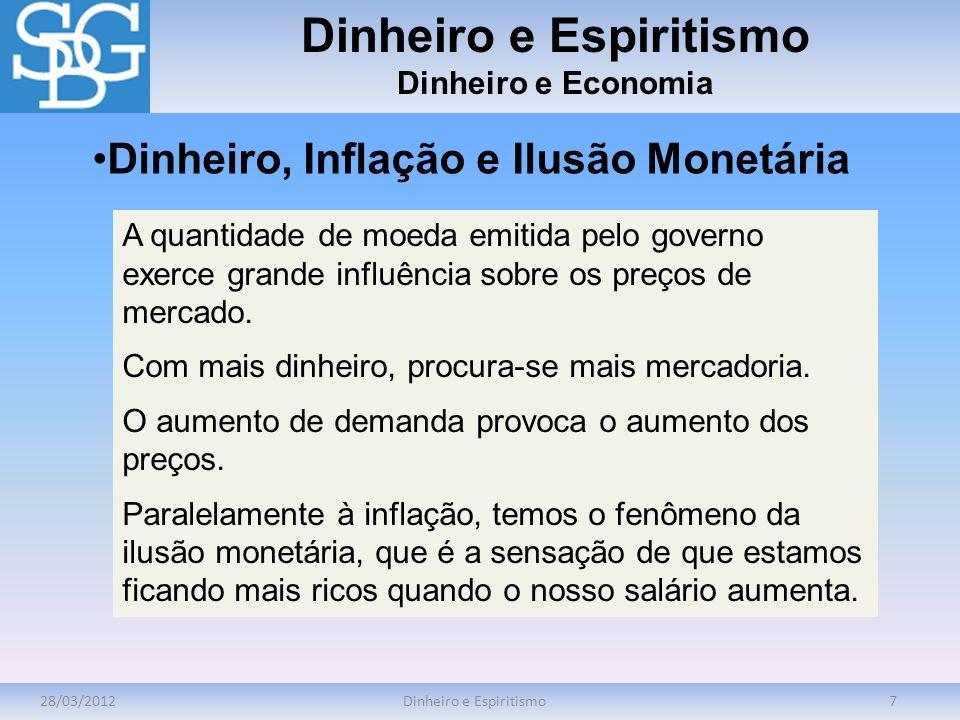 Dinheiro e Espiritismo