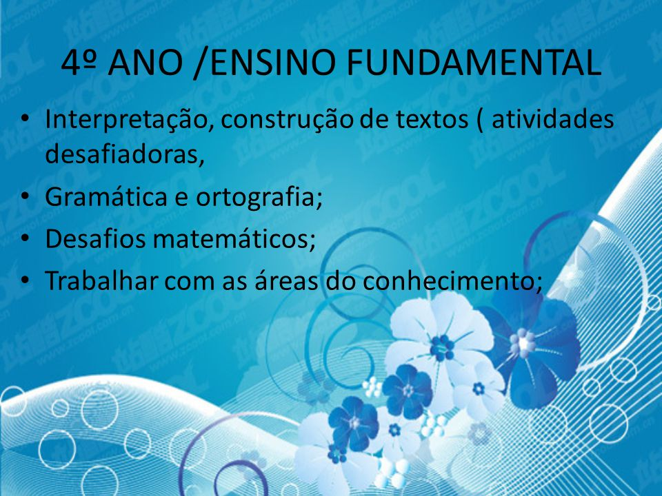 4º ANO /ENSINO FUNDAMENTAL