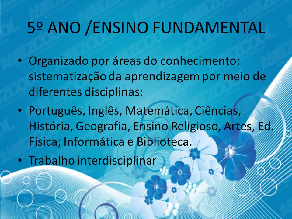 5º ANO /ENSINO FUNDAMENTAL