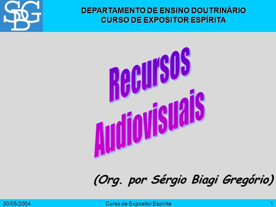 Recursos Audiovisuais (Org. por Sérgio Biagi Gregório)