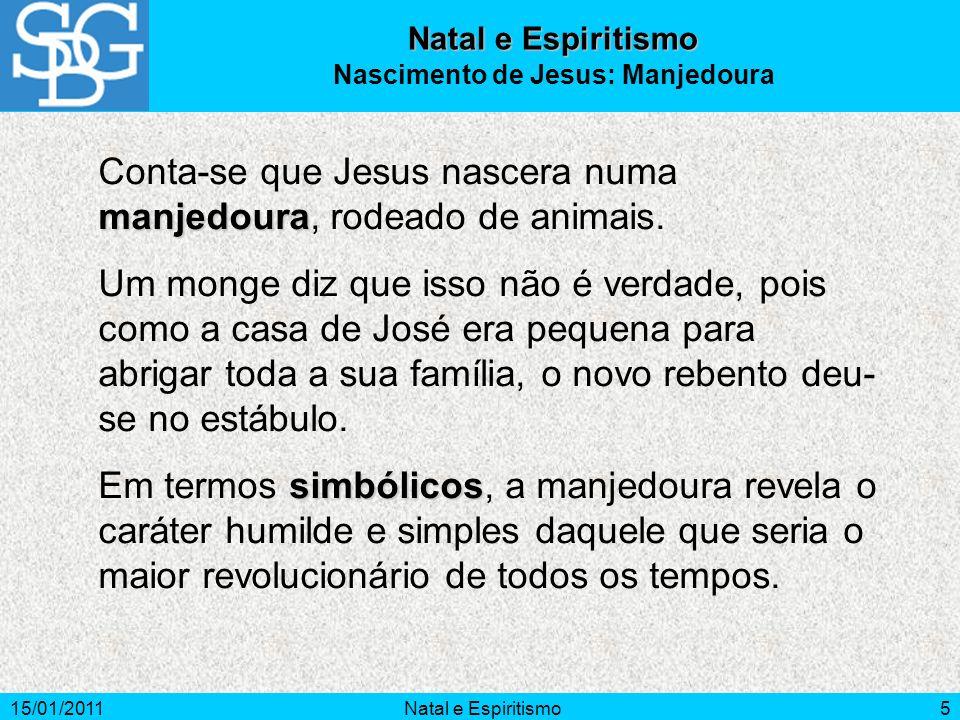 Nascimento de Jesus: Manjedoura