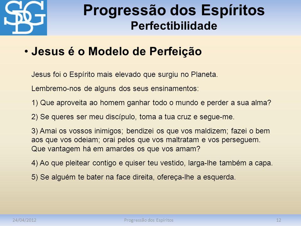 Progressão dos Espíritos Perfectibilidade