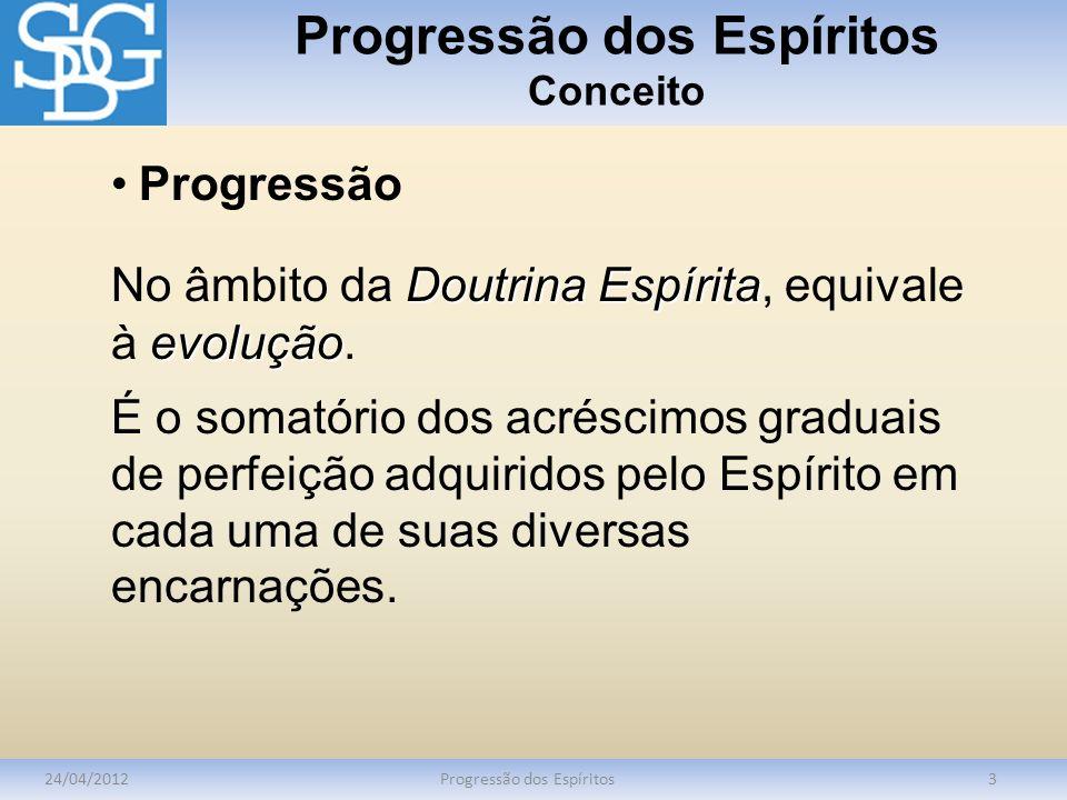 Progressão dos Espíritos Conceito