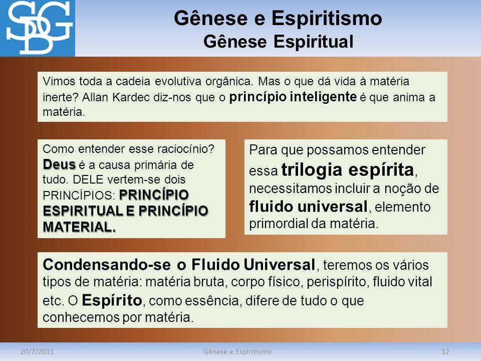 Gênese e Espiritismo Gênese Espiritual