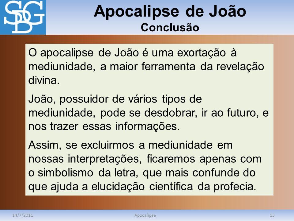 Apocalipse de João Conclusão