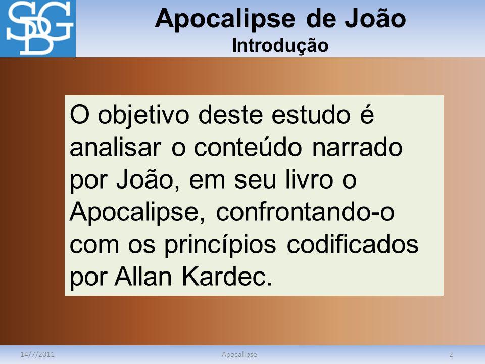 Apocalipse de João Introdução
