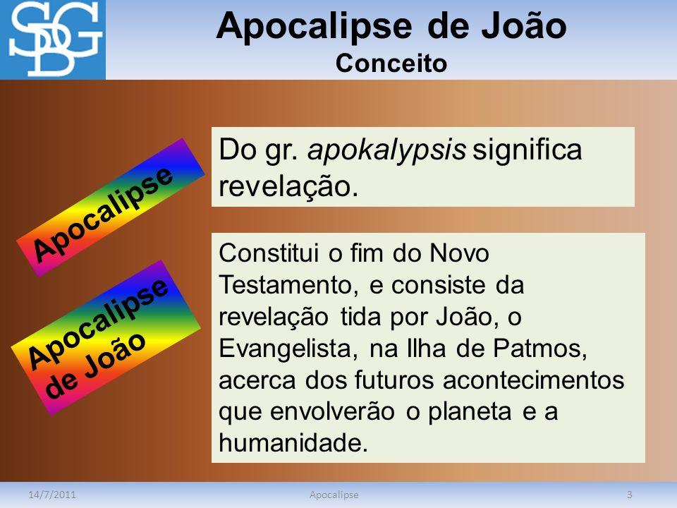 Apocalipse de João Conceito