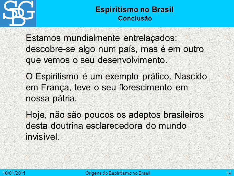 Origens do Espiritismo no Brasil