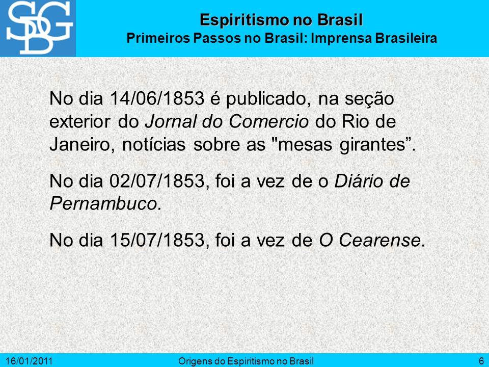 Primeiros Passos no Brasil: Imprensa Brasileira