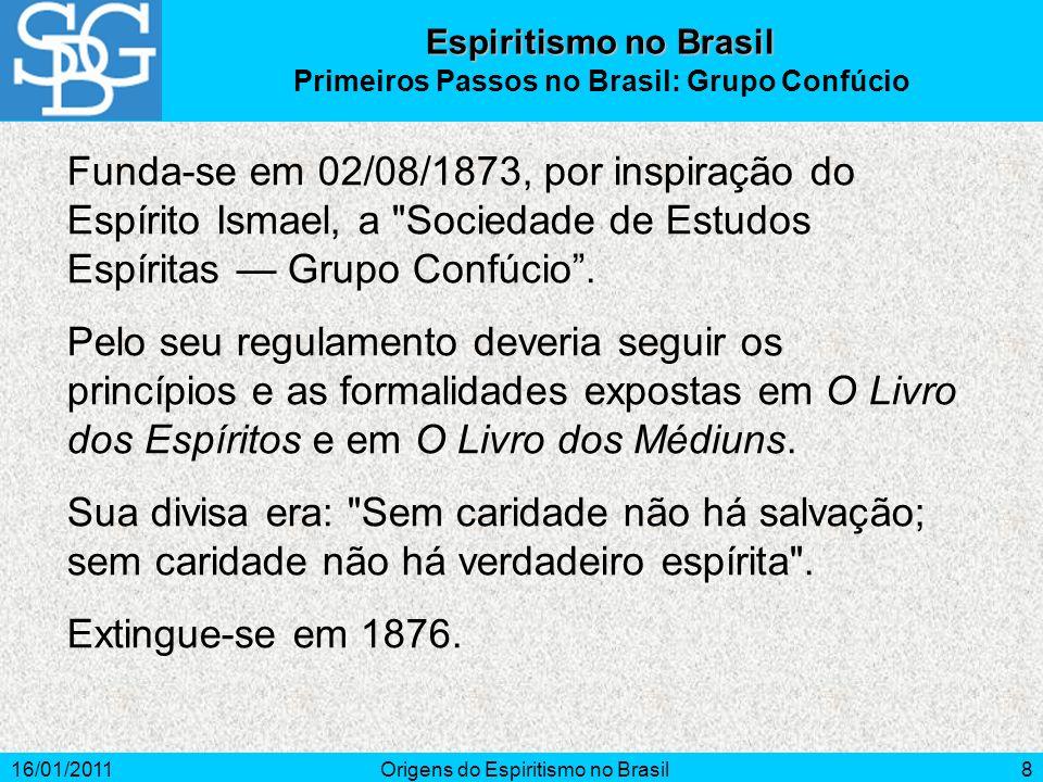 Primeiros Passos no Brasil: Grupo Confúcio