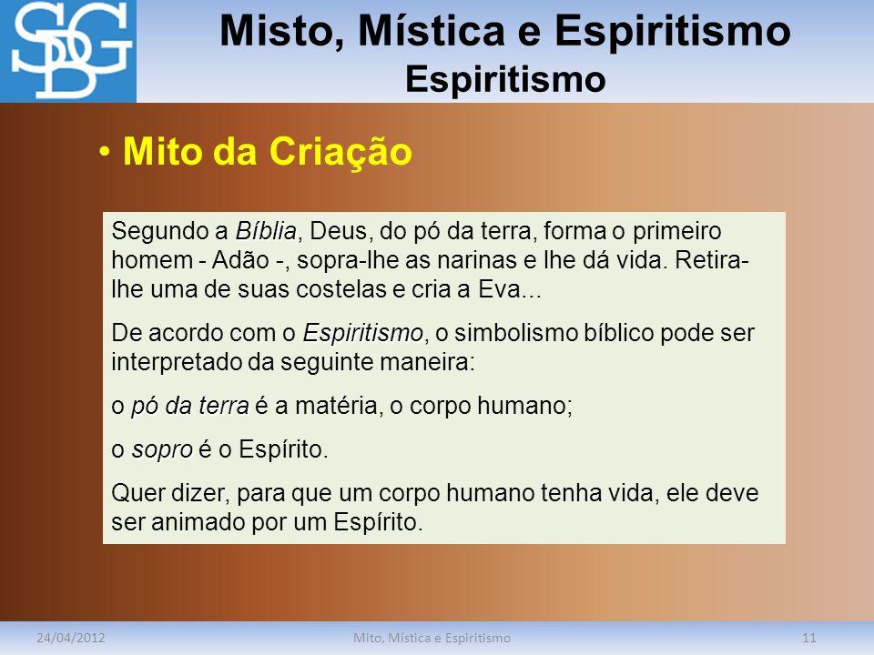 Misto, Mística e Espiritismo Espiritismo
