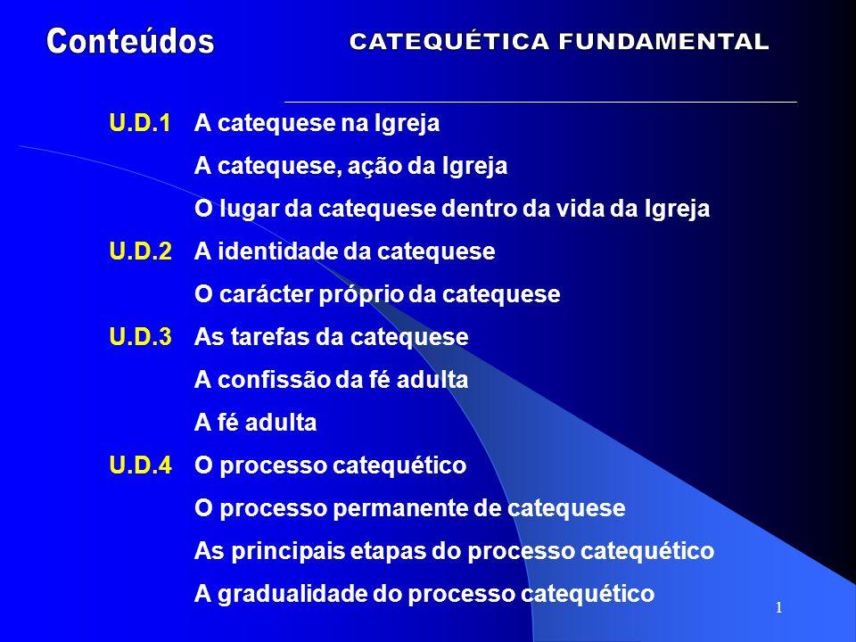 CATEQUÉTICA FUNDAMENTAL